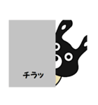 BLACK BUNNY 001 2(個別スタンプ:31)