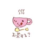 田村セツコ きららちゃん きらきらスタンプ(個別スタンプ:24)