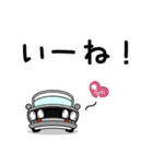 まんまる丸目のブルくんバドちゃん♪(個別スタンプ:13)