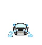 まんまる丸目のブルくんバドちゃん♪(個別スタンプ:16)