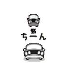 まんまる丸目のブルくんバドちゃん♪(個別スタンプ:19)