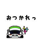 まんまる丸目のブルくんバドちゃん♪(個別スタンプ:25)
