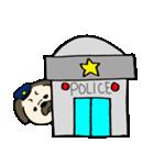 パグ警察(個別スタンプ:37)