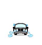 まんまる丸目のハコくんスカちゃん♪(個別スタンプ:16)