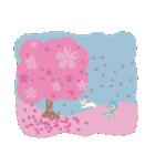 水色キュートなれいんちゃんです。(個別スタンプ:21)
