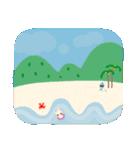 水色キュートなれいんちゃんです。(個別スタンプ:22)