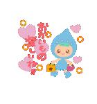 水色キュートなれいんちゃんです。(個別スタンプ:26)