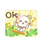 ぱんにゃの動く♥春の日常スタンプ(個別スタンプ:05)
