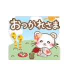 ぱんにゃの動く♥春の日常スタンプ(個別スタンプ:12)