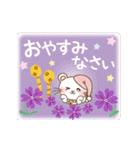 ぱんにゃの動く♥春の日常スタンプ(個別スタンプ:23)