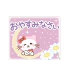 ぱんにゃの動く♥春の日常スタンプ(個別スタンプ:24)