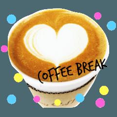 cafe stamp.