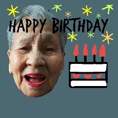 95歳園江さんの英語挨拶