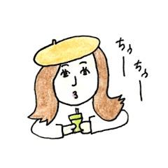 手書き風ガールズ