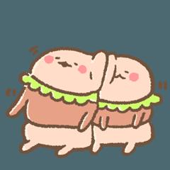 ハンバーガーさんの小児期 2代目