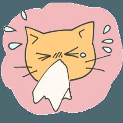 花粉症と猫OL