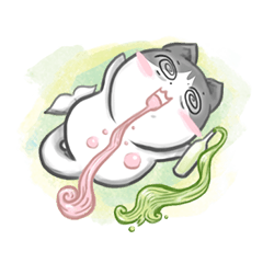 [LINEスタンプ] Catfish : So Cute