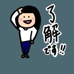 まる顔のマンナちゃん3