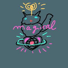 魔法猫 'タイツ'