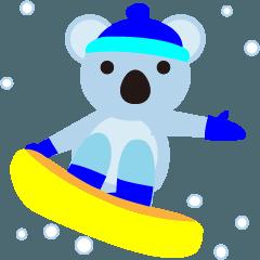 「ほんわか癒しのコアラ」冬生活