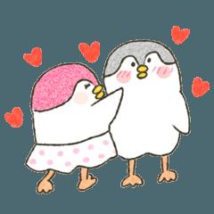 Peguin Legs is falling in love.