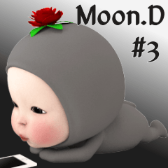 Moon.D from the Moon[3D]daily3