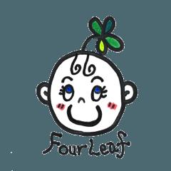 four leaf clover kawaii