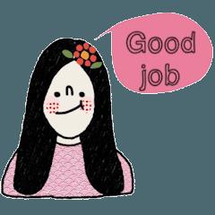 Sasiwimol, a working woman. (English)