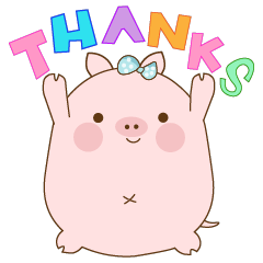 piggy cute pink pig 1
