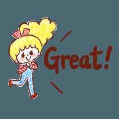 ゆるふわヘアちゃんの簡単英語パート2