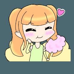 笑顔の妖精 ニコちゃん スタンプ