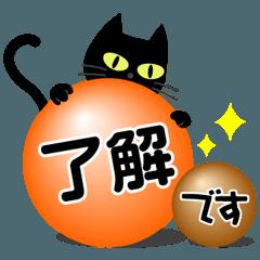 黒猫の日常&気づかいの言葉