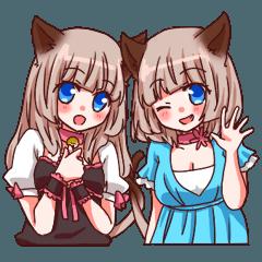 TwinCatGirls