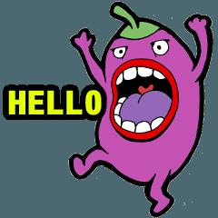 Chubby Eggplant