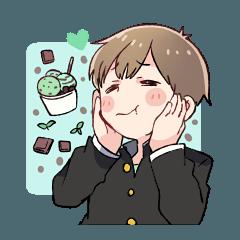 チョコミント男子