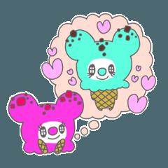 恋するアイスクリーム (ラズベリー)