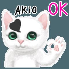 Akioさん名前スタンプ