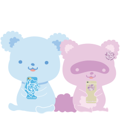 JEWLIEROSE animals スタンプ