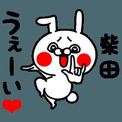 [LINEスタンプ] 柴田ちゃん専用ラブラブ名前スタンプ