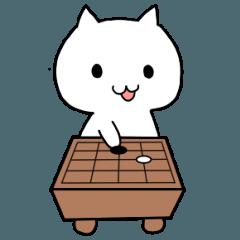 白ネコの囲碁ライフ