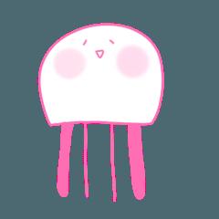 明るいクラゲ