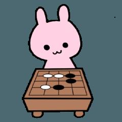 うさぎの囲碁ライフ