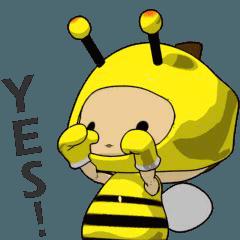Tono.Q:Dressage show - bee costume