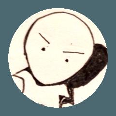 丸謙スタンプ(8)表情篇