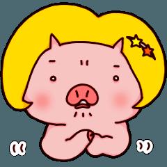 ぶたの乙女(おとめ)ちゃん☆怒りと青春編