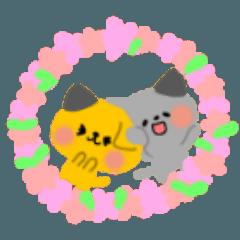 双子猫のすずとらん3~春☆良く使う言葉~