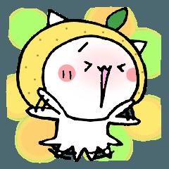 柚子ねこ8~ほんわかスタンプ~