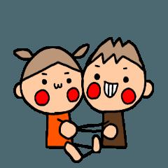 ブラウンくんとオレンジちゃん 9