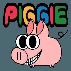 ピギーは幸せなぶたちゃん