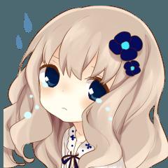 ふわふわ髪の女の子3